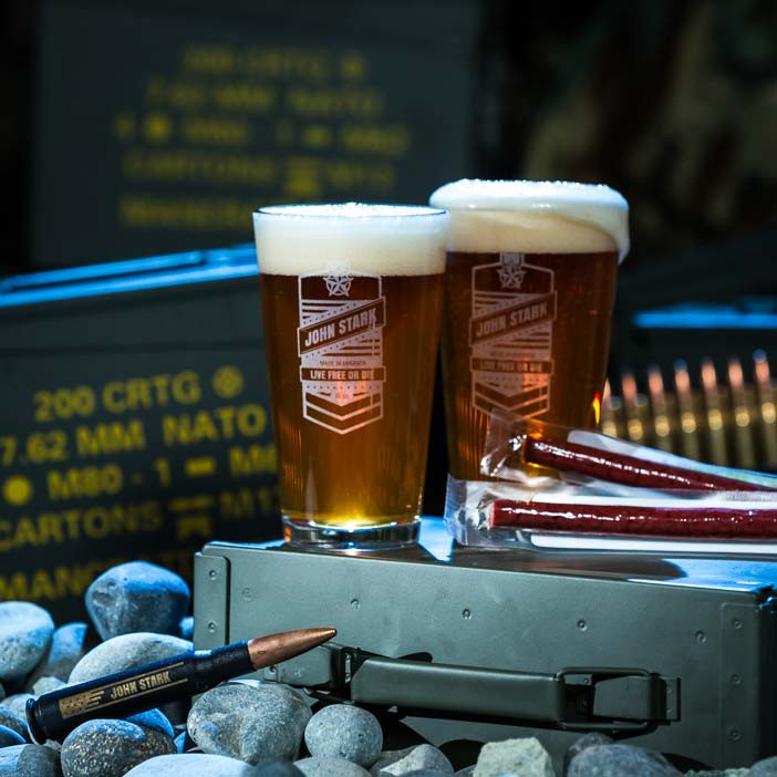 Personalized Pint Set Ammo Can