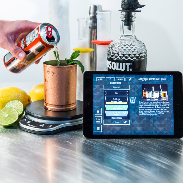 Give him an easy, delicious mixology app.