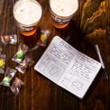 Craft beer tasting journal.