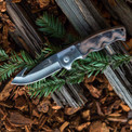 Foldable hunting knife.