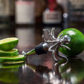 Awesome Kraken gin bottle stopper.