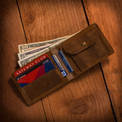 Saddleback leather wallet. Money not included.