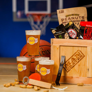 The NBA Barware Crate - a great gift for basketball fans