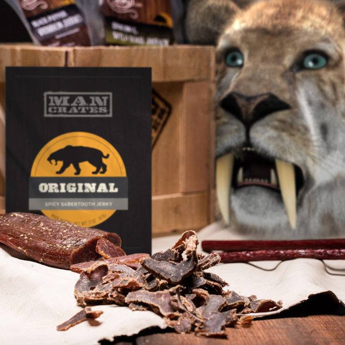 The Genetically Engineered Meats Crate. Packed with prehistoric flavor!