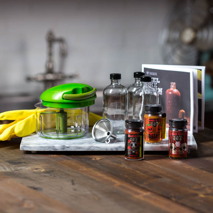 Our Hot Sauce Making Kit will bring the fire to their tongues