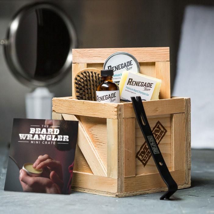Beard Wrangler Mini Crate