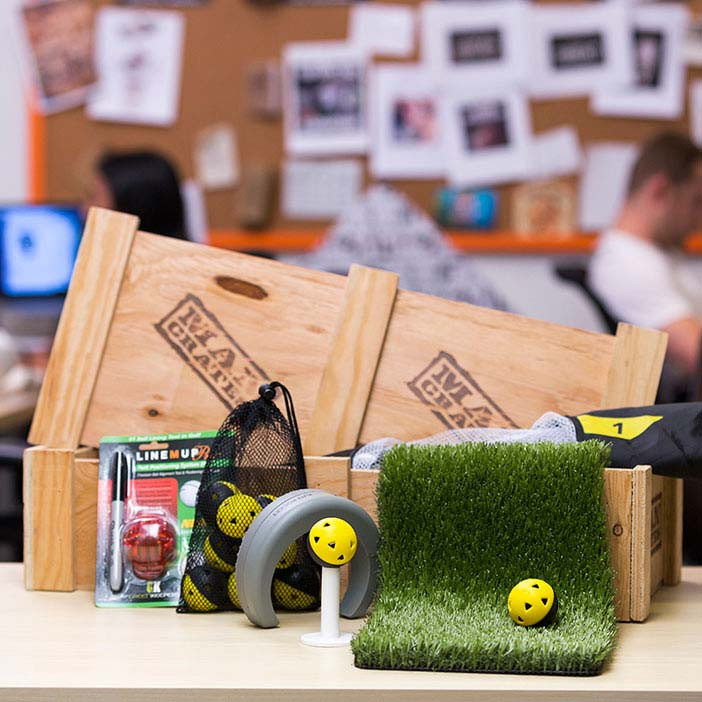 The Office Golf Crate
