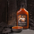Tangy vinegar barbecue sauce.