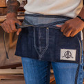 Denim Apron from the Offerman Woodshop