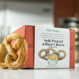 Soft Pretzel and Beer Cheese Making Kit awesome gift for men