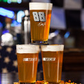 Features NASCAR licensed pint glasses