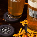 Check out the rubber tire coasters