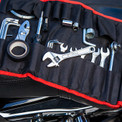Motorcycle Tool Roll Pouch with Tools Included