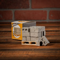1:12 miniature scale cinderblocks on pallet