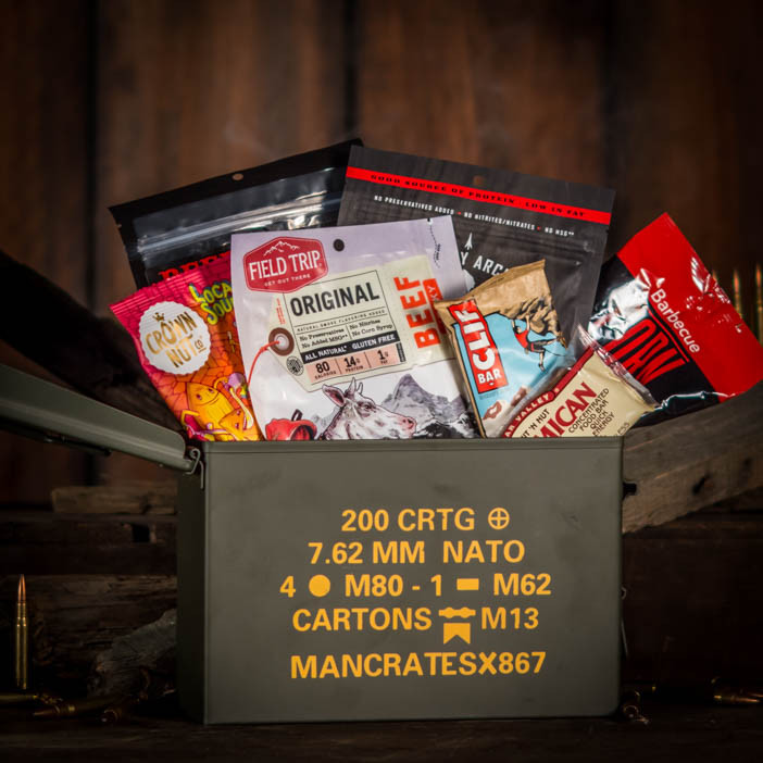 Premium Beef Jerky In A NATO Ammo Case Man Crates
