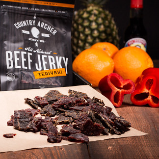 Tender, hand-cut slices of premium steak painstakingly marinated in a top-secret blend of soy, ginger, honey, brown sugar, sea salt and other exotic spices.