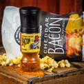 Need an extra serving of bacon?  Try bacon popcorn- your tastebuds will thank you. Care for more bacon seasoning—we offer a Bacon Seasoning Grinder as well.