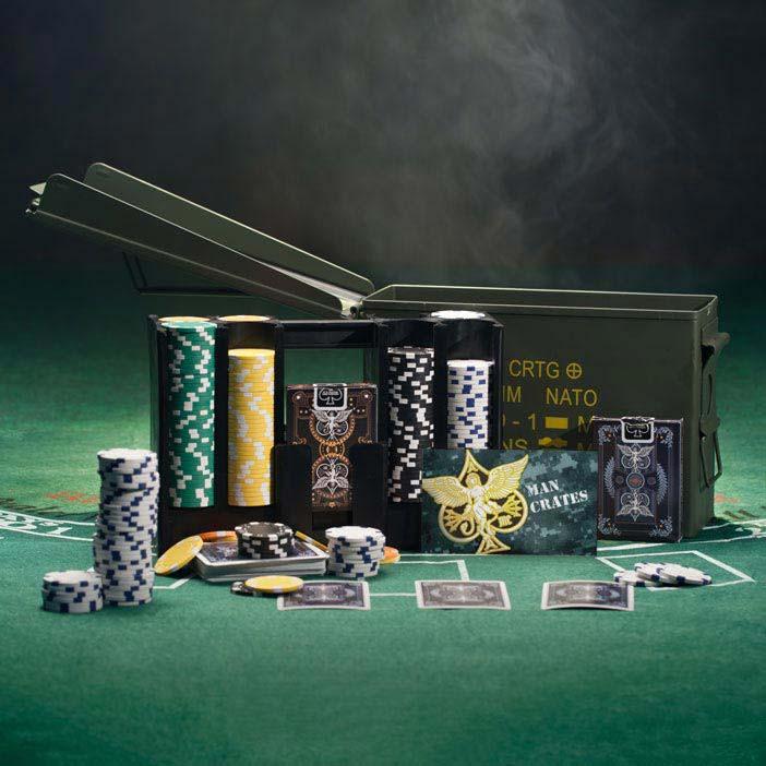 ammo can poker set - Poker Sets