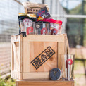 Legends of Baseball Barware Crate by Man Crates