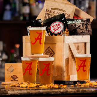 With this crate, you and your buddies can relive all your most outrageous college moments without creepily re-enrolling as undergrads.