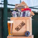 MLB Barware Crate by Man Crates