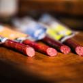 Exotic jerky sticks