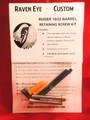 Ruger 10/22 Barrel Retaining V-Block Screws