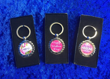 Personalised keyrings