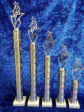 Tall silver star sets