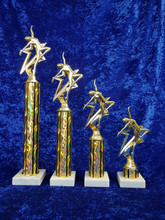 Star themed dance/gym trophy