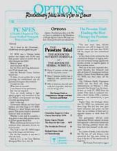 People Against Cancer Options: Volume 8, Number 1, November 2002