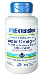 Super Omega-3 EPA/DHA with Sesame Lignans & Olive Fruit Extract