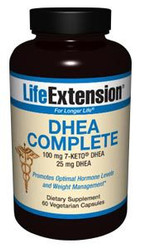 DHEA Complete 100mg 7-Keto DHEA 25mg DHEA