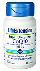 Super Ubiquinol CoQ10 with Enhanced Mitochondrial Support™ 200mg