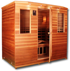 Clearlight Premier IS-5 Cedar Infrared Sauna 4-5 Person
