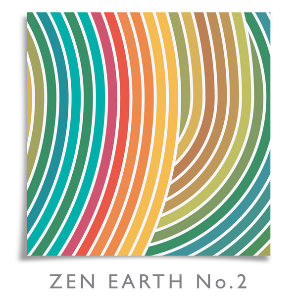 Zen Earth No.2 print by Dig The Earth
