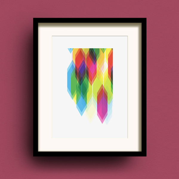 Prism A3 print by Dig The Earth