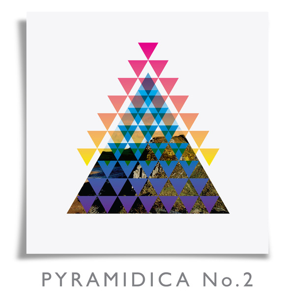 Pyramidica No.2 print by Dig The Earth