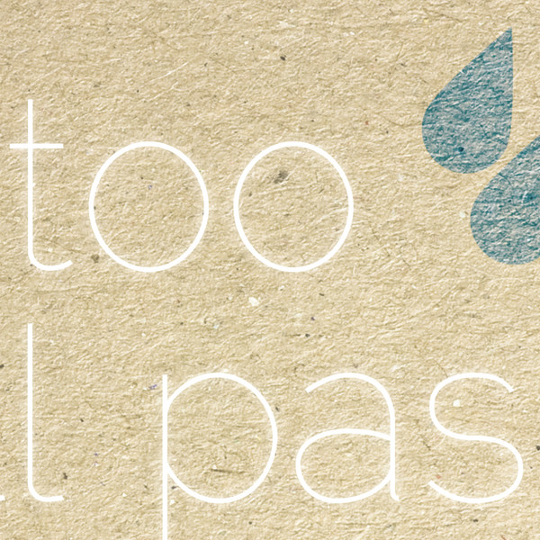 This Too Shall Pass print (detail) by Dig The Earth