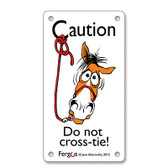 Fergus Barn Sign *** Do Not Crosstie***