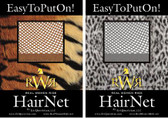 No Knot Hair Net Available in  Auburn,  Blonde, Black, Light Brown, Medium Brown, Dark Brown.