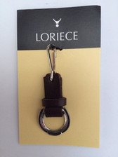 Loriece Leather Stirrup Charm