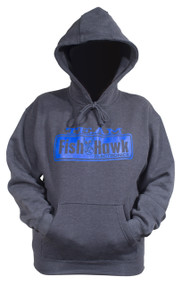 Team Fish Hawk Hoodie - Charcoal/Blue