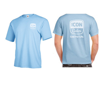 ICON Cool For Life Tee - Sky Blue SS