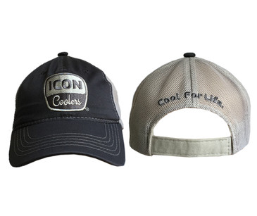 ICON Unstructured Hat Charcoal