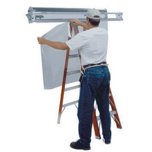 "72"" Window Film Handler"
