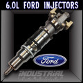 6.0L Race1 Fuel Injector Set Pure Power Injectors 2004-2006 Late 6.0L Ford Powerstroke (4221-R1)