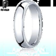 Platinum 5.5mm European Comfort-Fit ™ Ring