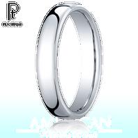 Platinum 4.5mm European Comfort-Fit ™ Ring