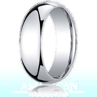 Palladium 7mm Traditional Comfort-Fit Ring